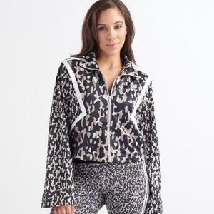 ADIDAS Animal Print Activewear Track Jacket